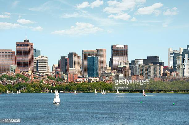 Boston Massachusetts from the Charles River