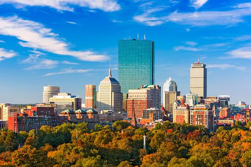 Boston, Massachusetts Skyline 635980648