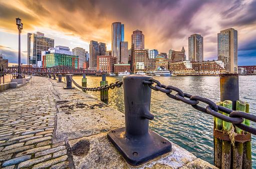 Boston, Massachusetts, USA Harbor 971568252