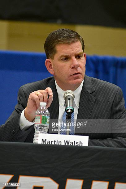 Boston Mayoral Candidate Marty Walsh