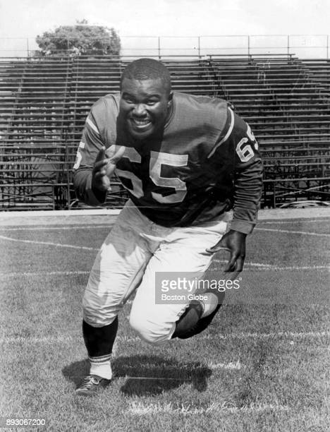 Boston Patriots Houston Antwine poses for a photo in Boston Aug 30 1962