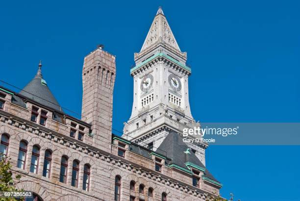boston - clock tower stock pictures, royalty-free photos & images