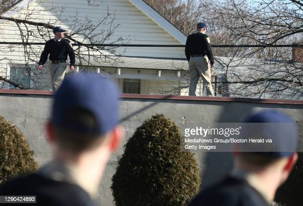 Boston Police officers from Hyde Park descended on Hyde Park High School on Metropolitan Ave. On Tuesday morning after a student uttered threats and...