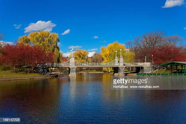 Boston Public Garden Bridge