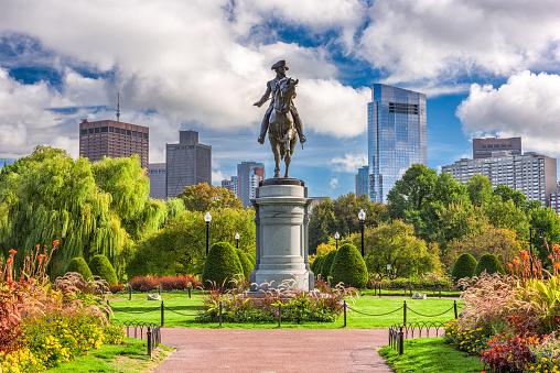 Boston Public Garden 885436304