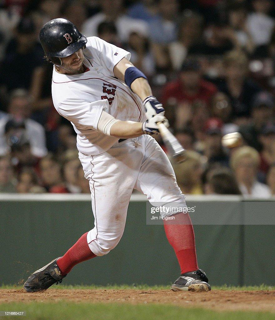 Texas Rangers vs Boston Red Sox - July 10, 2004
