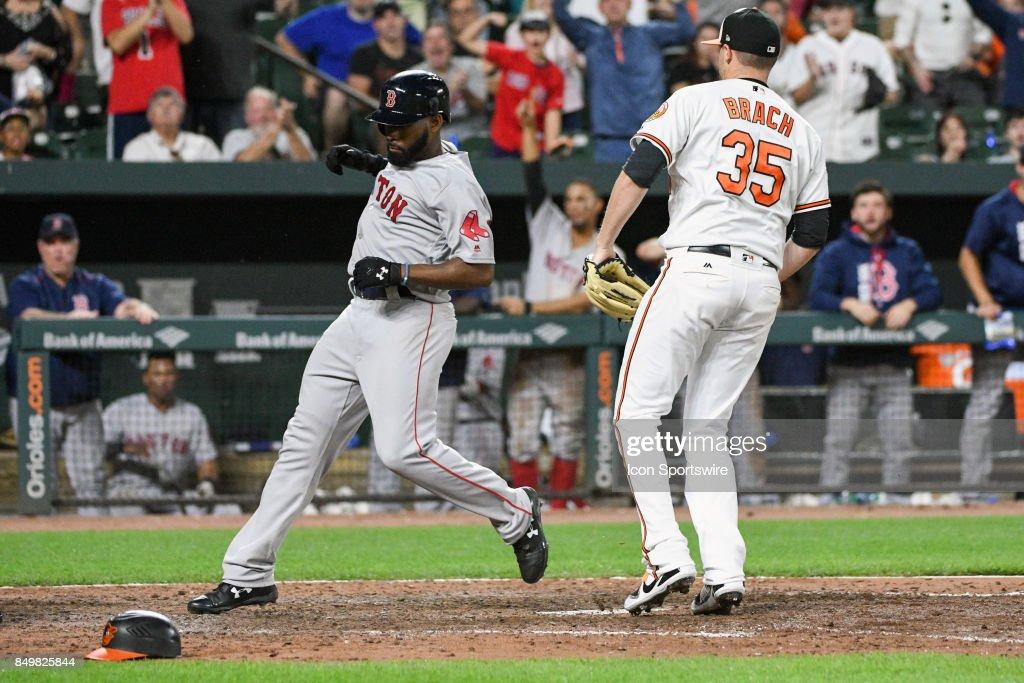 MLB: SEP 19 Red Sox at Orioles