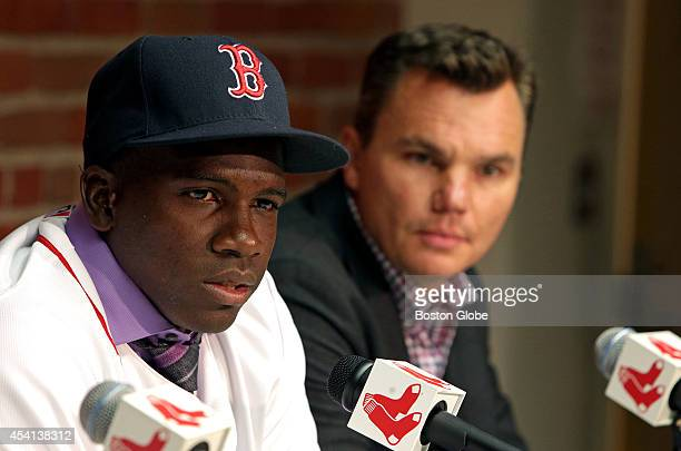 Boston Red Sox General Manager Ben Cherington introduced new outfielder Rusney Castillo to the Boston media The Red Sox will be paying out a...