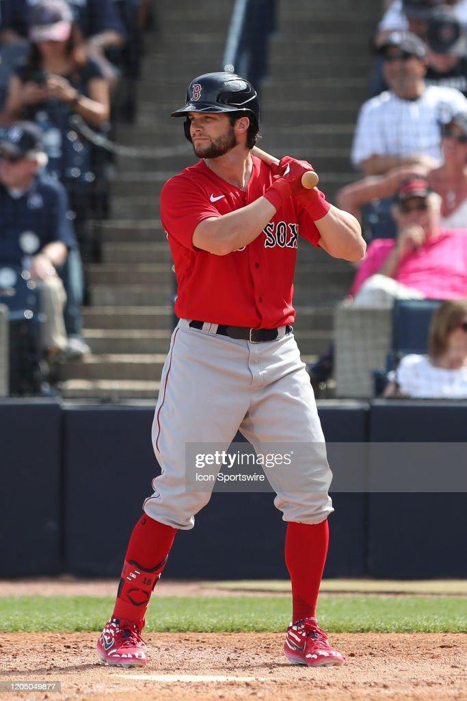 MLB: MAR 03 Spring Training - Red Sox at Yankees : ニュース写真