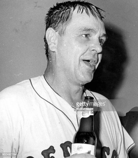 Boston Red Sox manager Dick Williams Oct 1 1967
