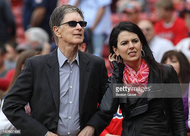 Boston Red Sox owner John Henry and wife Linda Pizzuti Henry The Boston Red Sox take on the Tampa Bay Rays in game two of a four game series at...