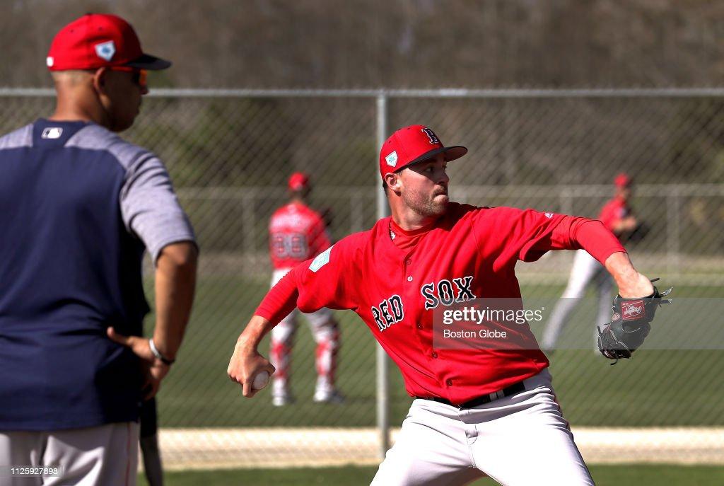 2019 Boston Red Sox Spring Training : News Photo