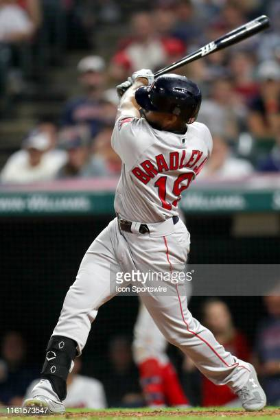 Boston Red Sox pitcher Nathan Eovaldi belts a gamewinning home run during the tenth inning of the Major League Baseball game between the Boston Red...