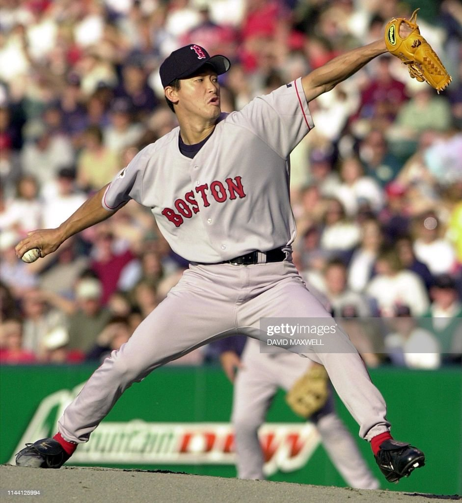 BBA-RED SOX-INDIANS-OHKA-01 : News Photo