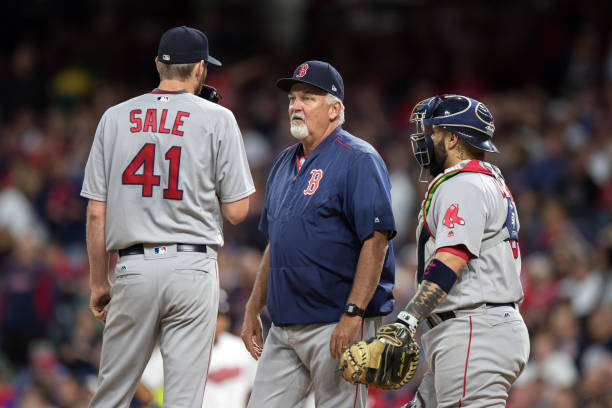 MLB: AUG 24 Red Sox at Indians