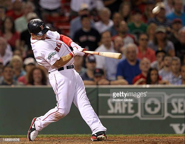 Boston Red Sox right fielder Cody Ross strokes a game winning three run home run in the bottom of the ninth inning The Boston Red Sox took on the...