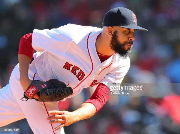 Boston Red Sox starting pitcher David Price throws a third inning pitch The Boston Red Sox host the Tampa Bay Rays in their home opener for the 2018...