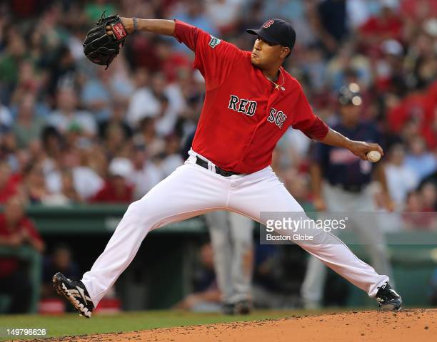 Boston Red Sox starting pitcher Felix Doubront takes the mound against the Minnesota Twins at Fenway Park