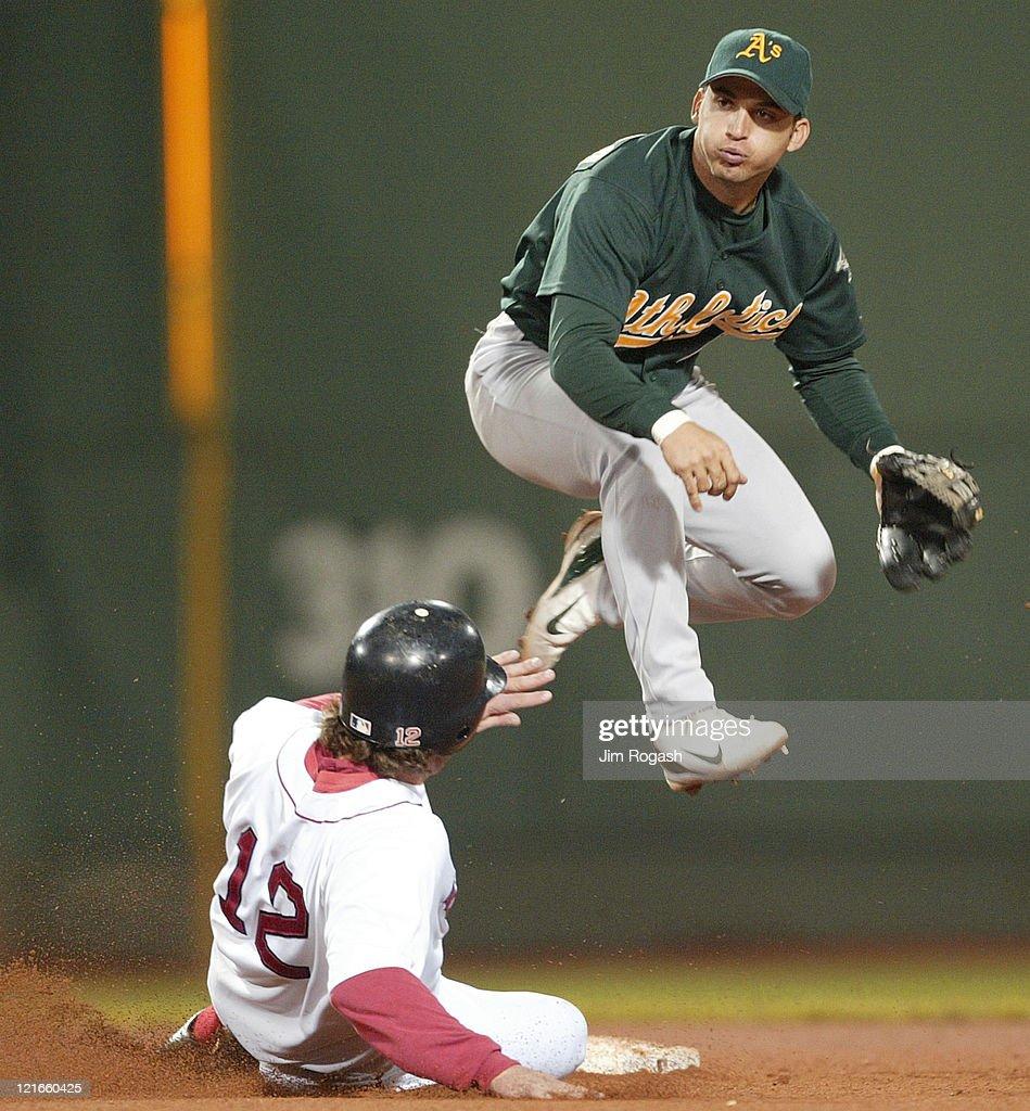 Oakland Athletics vs Boston Red Sox - May 27, 2004