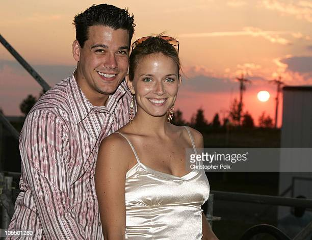 Boston Rob Mariano and Amber Brkich of Survivor