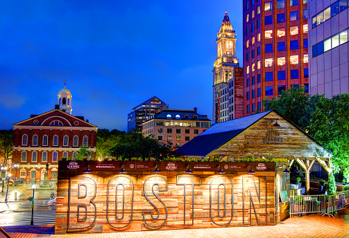 Boston Seasons at City Hall Plaza 1010075356