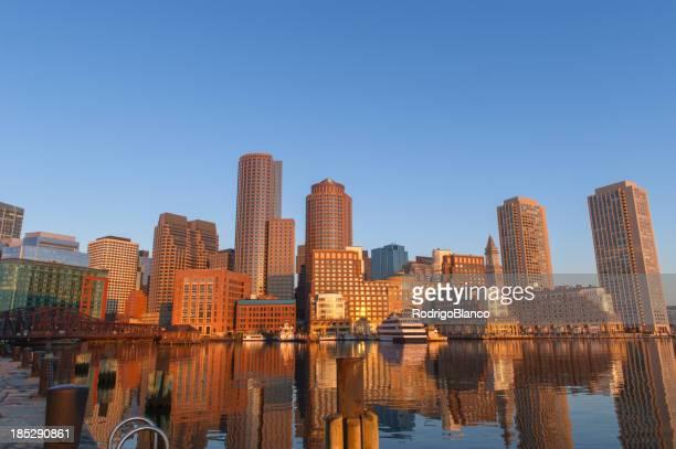 Boston Skyline at dawn