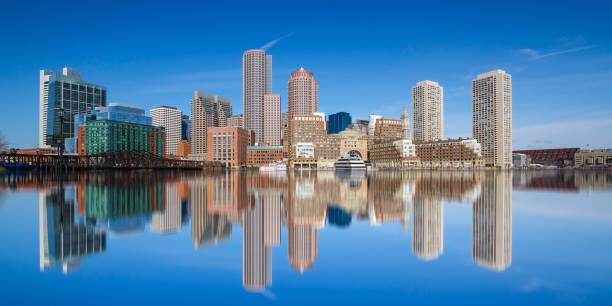 Boston Skyline Boston Massachusetts Usa - Fine Art prints