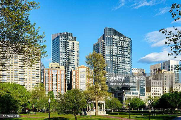 USA Boston Skyline