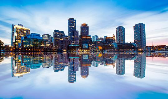 Boston Skyline 842589992