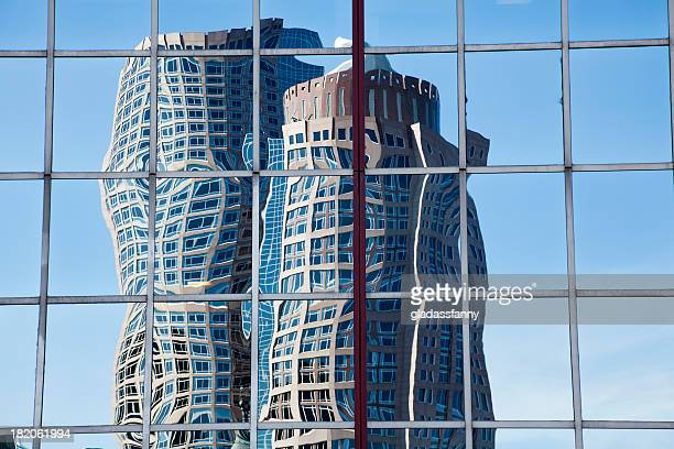 Boston Skyscraper Reflection