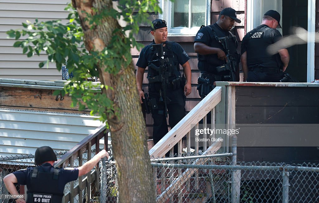 Shootout, Search After Boston Police Shot In Dorchester Pictures ...