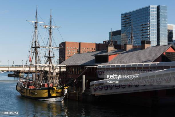 boston tea party - boston tea party stock photos and pictures