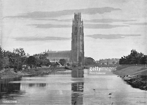 The Church' circa 1896 From Pictorial England and Wales [Cassell and Company Limited London Paris Melbourne circa 1896] Artist F Beales