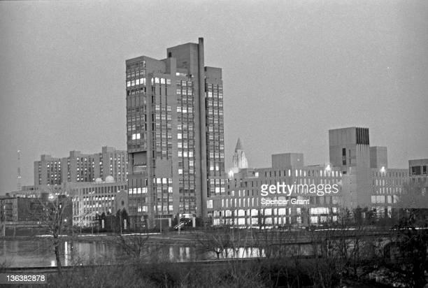 Boston University Law/Ed Bldg. & Geo. Sherman Union, Boston, Massachusetts, 1975.