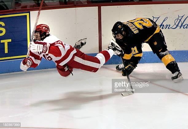 Boston University men's ice hockey plays the Colorado College Tigers Saturday evening Nov 26 2005 at the Jack Parker Rink at Agganis Arena Boston...