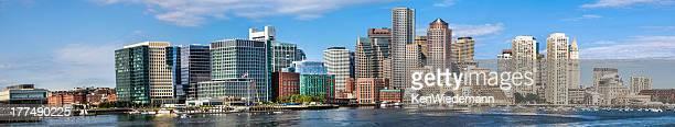 Boston Waterfront Panorama