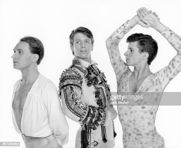 Bostton Ballet Corps de Ballet dancers Vadim Strukov James Thompson and James O'Connor