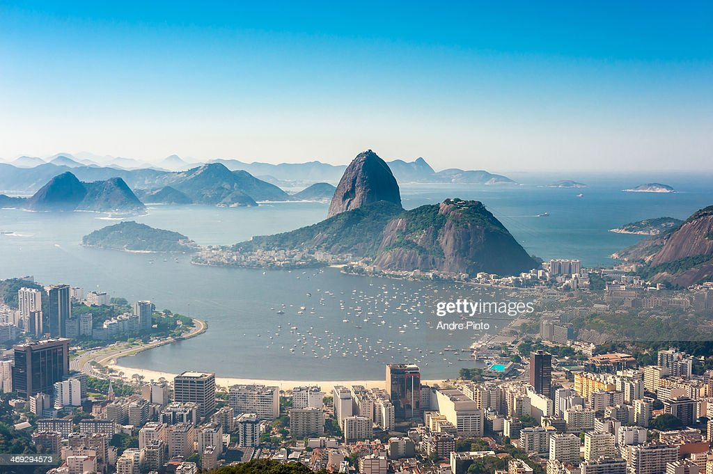 Botafogo bay, Rio de Janeiro : Stock-Foto