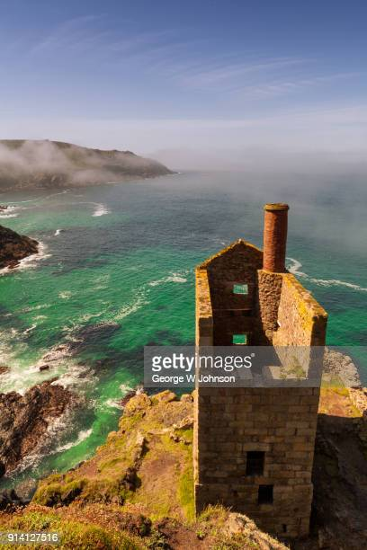 botallack mine - natural landmark stock pictures, royalty-free photos & images