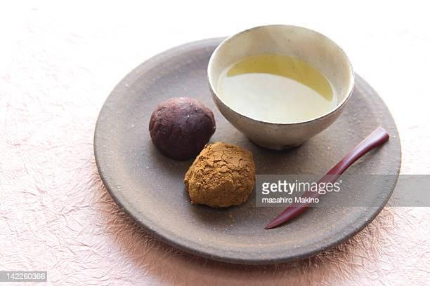 botamochi - 和菓子 ストックフォトと画像