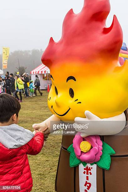 Botan Mascot Japanese celebrate the silly eccentric and adorable like no other country Its obsession with the yurukyara mascots is a perfect example...