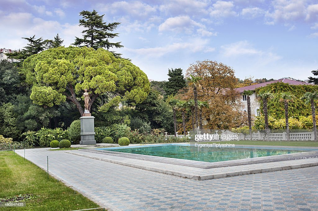 Botanical Gardens, Yalta : Stock Photo