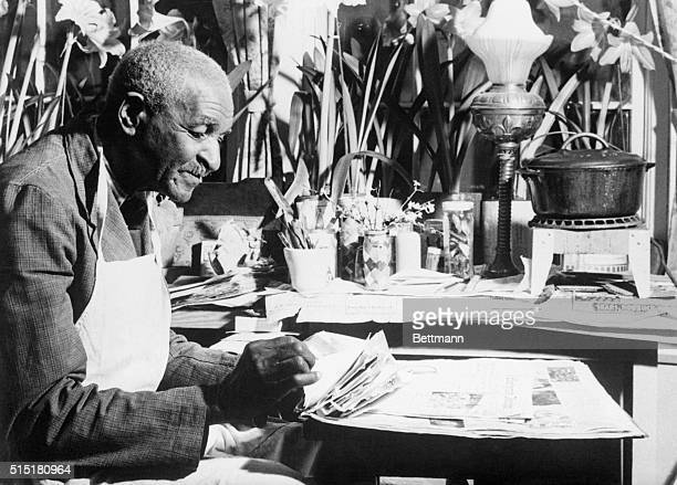Botanist George Washington Carver donated $33000 in cash to the Tuskegee Institute to establish a fund to carry on the agricultural and chemical work...