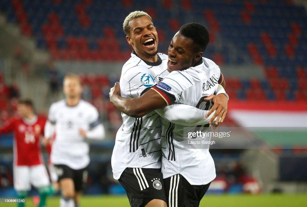 Hungary v Germany - 2021 UEFA European Under-21 Championship : Nachrichtenfoto