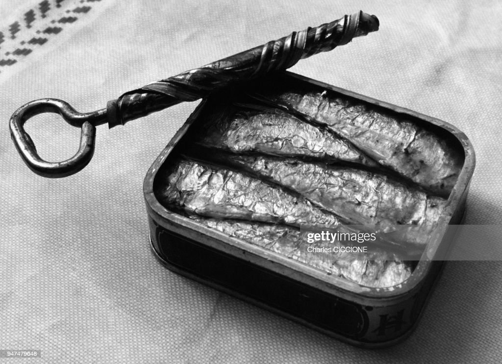 Bo te de conserve de sardines l 39 huile news photo getty images - Conserve de sardines maison ...