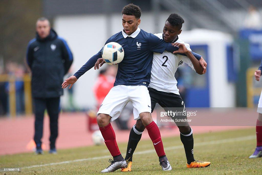 U18 Germany v U18 France - International Friendly : News Photo