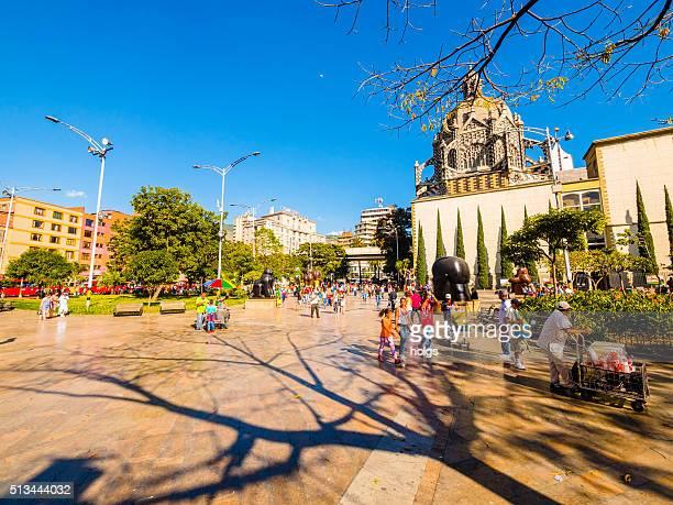 Botero-Platz in Medellin, Kolumbien