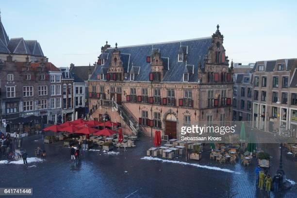 Boterwaag Building with People, Nijmegen, the Netherlands