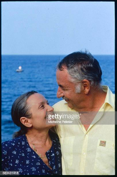 Both famous French actors married couple Philippe Noiret and Monique Chaumette star together in Henri Graziani's film Nous Deux