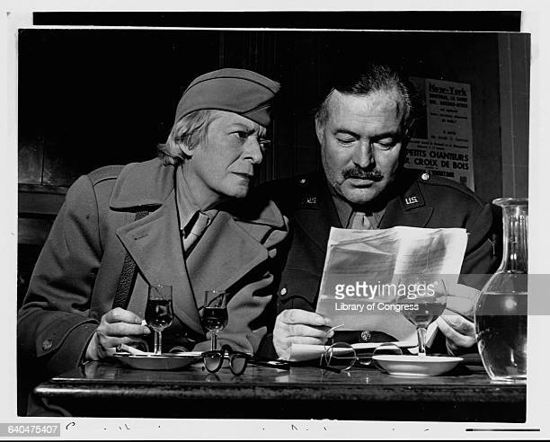 Both lived and worked in Paris between the two world wars The two returned as correspondents after the liberation of Paris in 1944